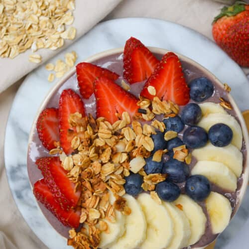 High-Protein Smoothie Bowl