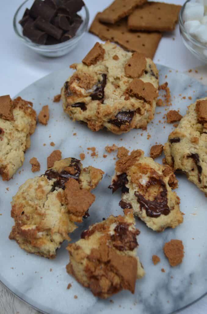 s'mores cookie recipe